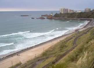 Webcam Biarritz, Côte des Basques