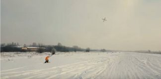 Droneboarding, Sport, Hiver