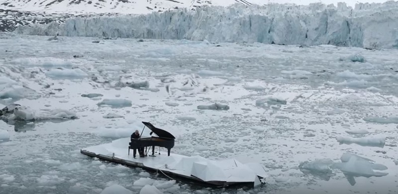 Piano, Banquise, Campagne, Greenpeace
